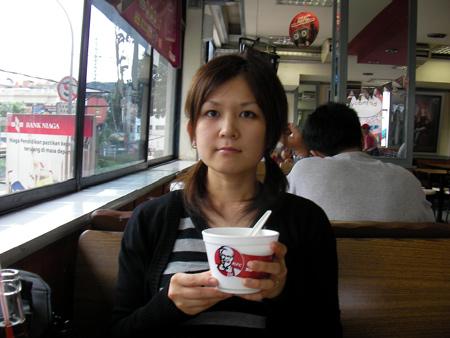 Ume in Jakarta KFC