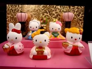 Hello Kitty Hinamatsuri Dolls