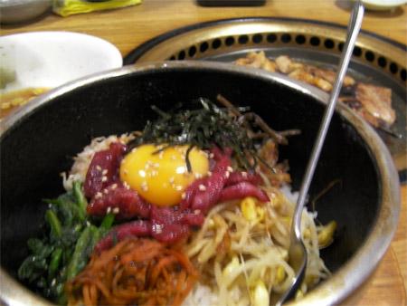 Bi-Bim-Ba and Yakiniku at local Yakiniku-Ya (restaurant)
